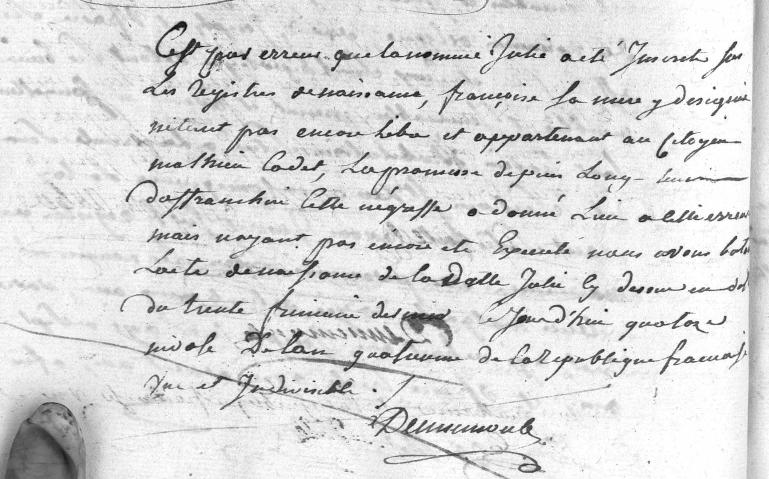 naissance_francoise_julie_1795_2sur2