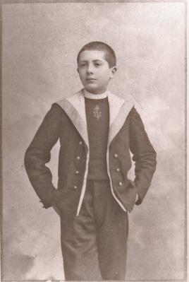 Henri Fournier au lycée Voltaire (1898)