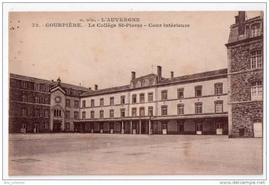 Collège Saint-Pierre de Courpière. Editeur : J. Gouttefangeas, Olliergues