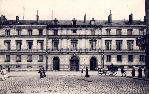 CP_Lycée_d'Orléans,_v1910,_Loiret,_France