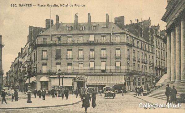 Hôtel de France. Source : https://collection-jfm.fr