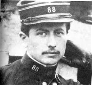Louis Pergaud en uniforme