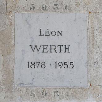 Léon Werth au Columbarium du Père Lachaise
