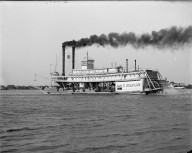 River packet Jas.-T.-Staples. Mobile, Alabama, 1906