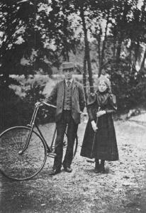 Victor et sa soeur Jeanne